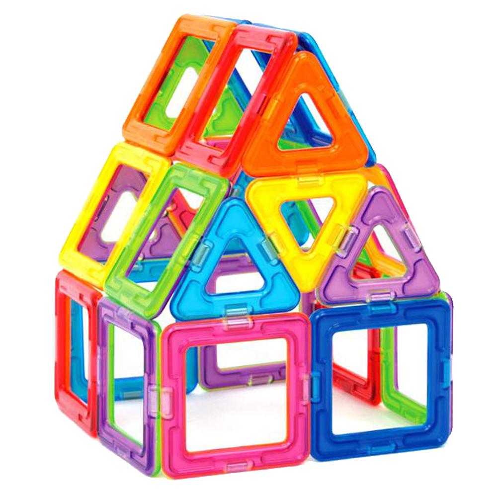 Какими преимуществами обладают детские магнитные конструкторы