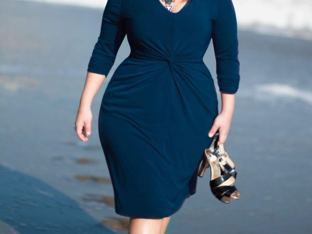 70d6b2525113 Где купить модную одежду для полных дам? | Женский портал